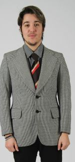 Men's Houndstooth jacket