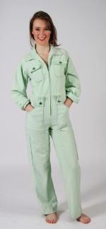 Peppermint Green Boiler Suit